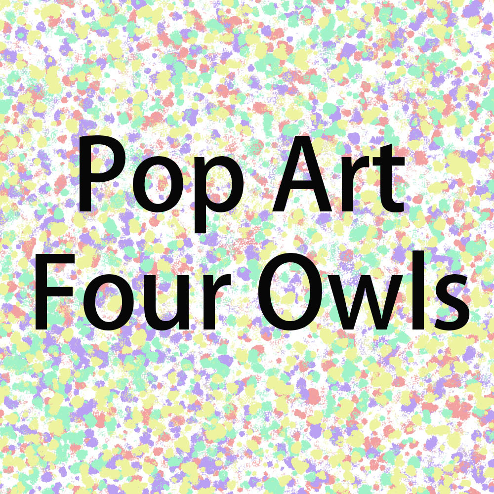 Wxkoil Große Größe Ölgemälde Pop Art Vier Eulen Wohnkultur Auf Leinwand Moderne Wand Kunst Leinwand Druck Poster Leinwand malerei