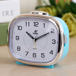 Image 3 - Small night lamp bedside alarm clock music creative personality of students are lazy children bedroom modern square table