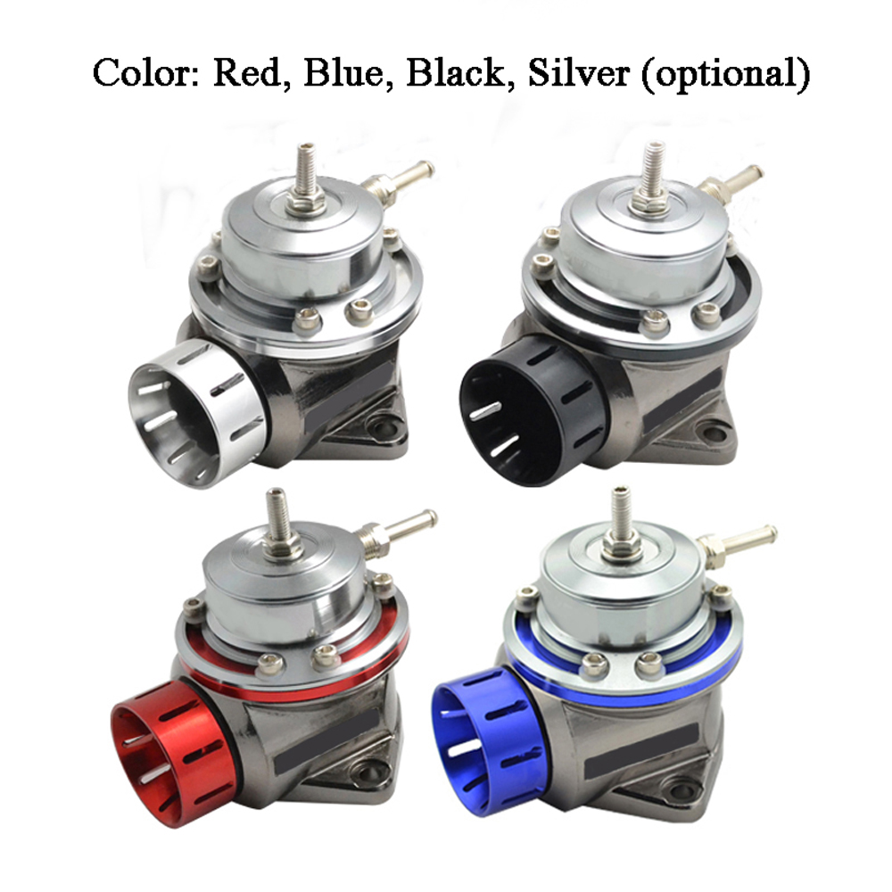 Black Turbo Blow Off Valve Akozon Car Modification Aluminum Alloy Turbo Blow Off Valve Kit Accessory