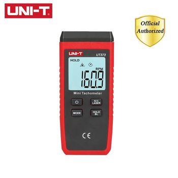 UNI-T UT373 Mini cyfrowy tachometr laserowy bezdotykowy obrotomierz zakres pomiarowy 10-99999RPM obrotomierz przebieg Km h podświetlenie tanie i dobre opinie