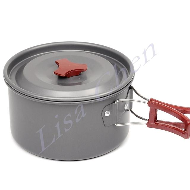Portable  Outdoor Cooking Pot Set