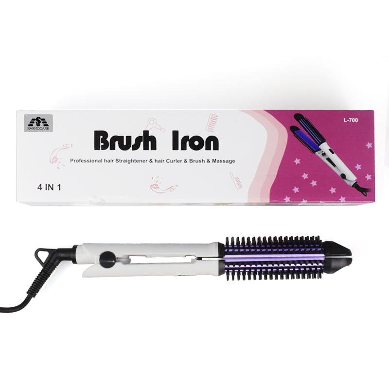 Best seller!Multifunctional 2 in1 Electric Straightener Curler Hair Comb Anti-scald Curling Irons Hair Curler Comb Styling Tools 2 in 1 portable multifunctional anti scald fast hair straightener comb hair curler brush electric straightening irons comb