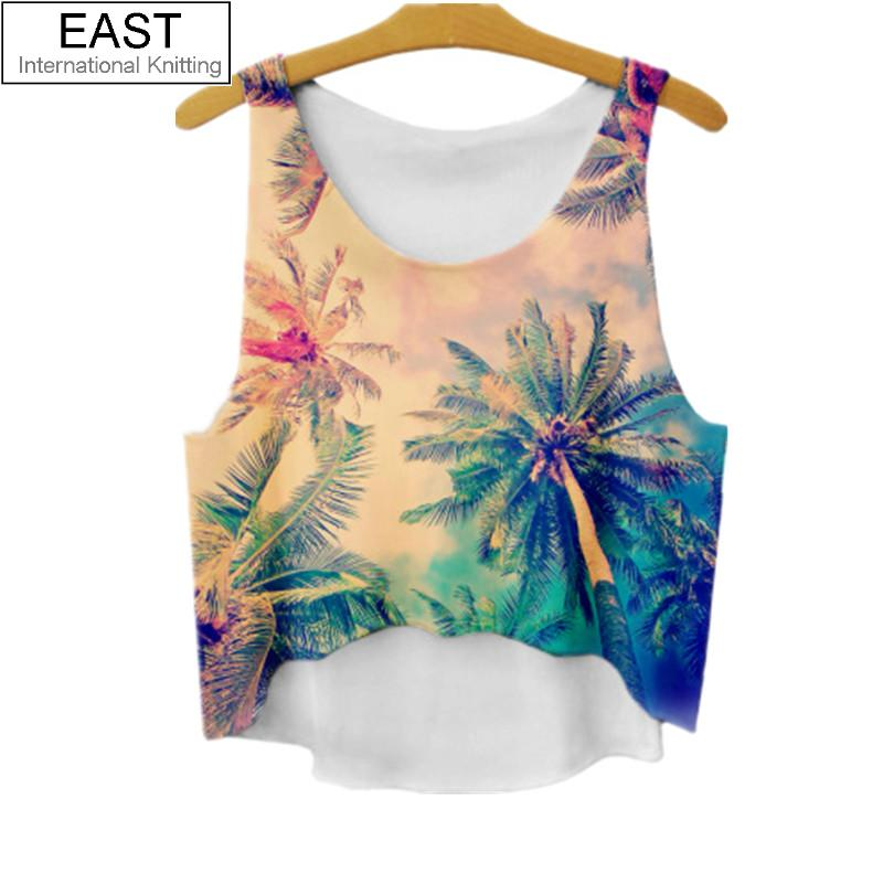 ��east knitting f563 Π2017 natural scenery printing