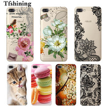 Tfshining Funda Cover FOR ASUS Zenfone 4 MAX ZC520KL Case Silicone Soft TPU Gel Phone Back Cases
