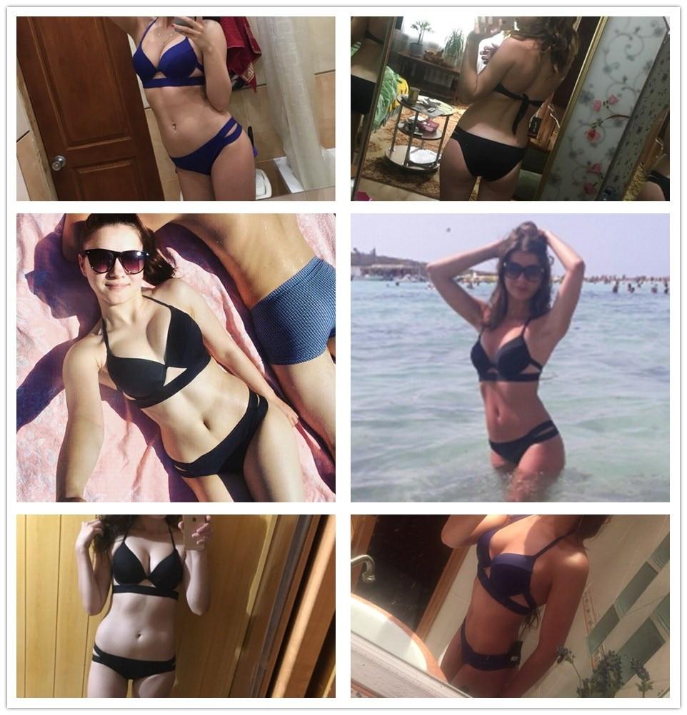 HTB1 e 0dKALL1JjSZFjq6ysqXXaD Andzhelika Bikinis Women Bandage Swimsuit Bikini 2019 Sexy Push Up Swimwear Low Waist Bathing Suit Halter Bikinis Suit Swim