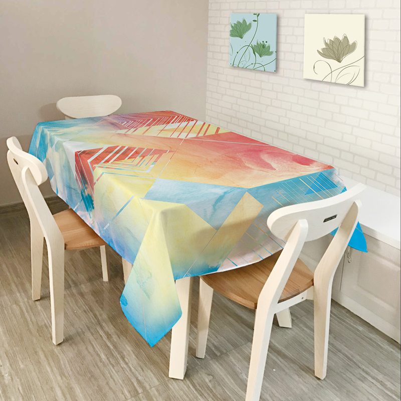Dekor i ri i shtëpisë Veshje për tavolinat Mbulesa tavolinash për - Tekstil për shtëpi - Foto 2