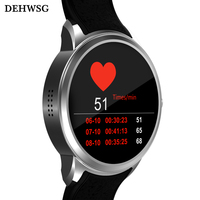 DEHWSG Android 5 1 Smart Watch Phone X200 MTK6580 512 8GB Wristwatch Support Heart Rate Monitor