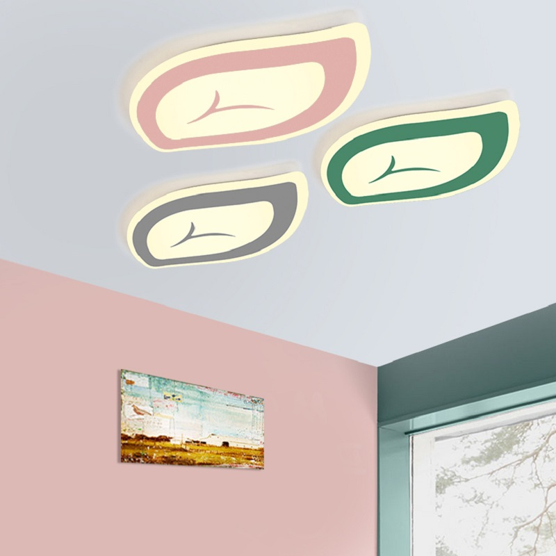 New design Macarons color acrylic LED Ceiling Lights for Living room bed room study room ceiling lamp lamparas de techo abajur 2017 acrylic modern led ceiling lights fixtures for living room lamparas de techo simplicity ceiling lamp home decoration