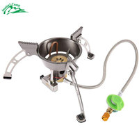 BRS 11 High quality Windproof outdoor stove gas burner camping cooker picnic cookout hiking equipment Oven Heater Tripod