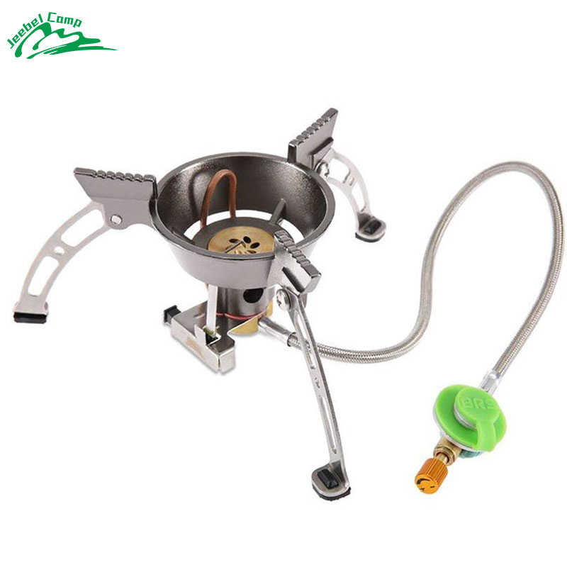 BRS 11 High quality Windproof outdoor stove gas burner camping cooker picnic cookout hiking equipment Oven