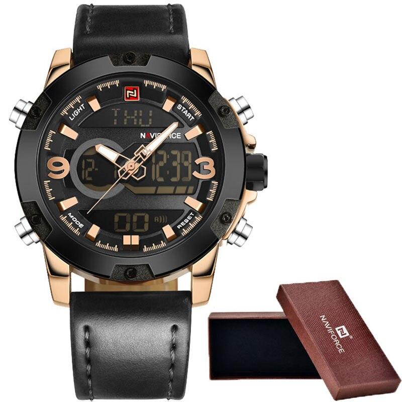 Watches Men Luxury Brand Fashion Watch Quartz Clock Men Sport Watches Men s Leather Military Wrist