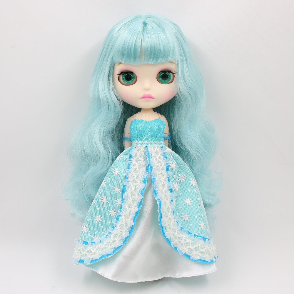 factory blyth doll bjd combination doll with clothes shoes or new face naked doll 1/6 30cm