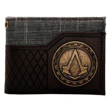 Assassins Creed Logo brown/black  Bi-Fold Wallet DFT-1575