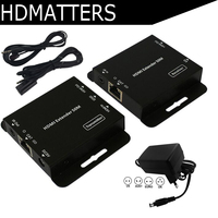 HDmatters HDMI extender with Loop&IR repeater cable over Ethernet Cat5e/6 up to 60M POE