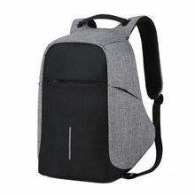 купить Anti theft Laptop Backpack Casual Men Backpack With USB Charge Waterproof Oxford Travel Bag Computer Bag по цене 1600.41 рублей