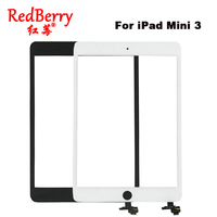 Redberry Front Glass Panel Replacement For IPad Mini 3 Touch Screen Digitizer With Tools Free Shipping