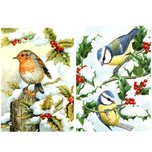 Birds DIY 5D Full Drill Diamond Painting Embroidery Cross Stitch Kit Rhinestone Home Decor Craft Christmas chicken diy 5d round full drill diamond painting embroidery cross stitch kit rhinestone home decor craft christmas gifts
