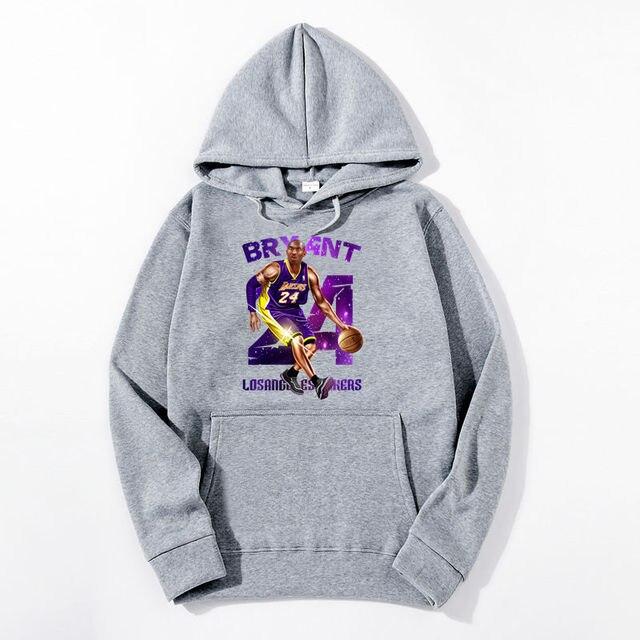 the new hoodie men leisure hoodie 24 kobe Bryant printed hoodies stranger things hoodie