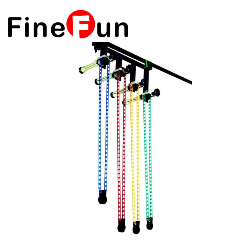 FineFun Photo Photography Studio Equipment Heavy Duty 4-Roller Wall Mounting Background Support System Free Shipping #A1532 стоимость