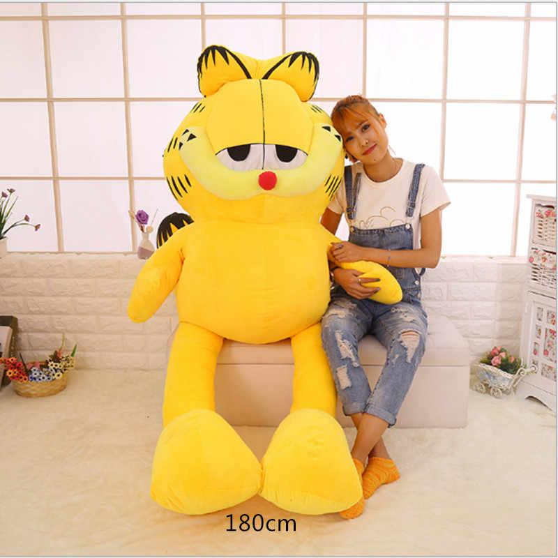 130 180cm Huge Big Garfield Cat Skin Shell Plush Toy Doll Semi Finished Product Girlfriend Gift Female Adult Toy Big Cat Cover Plush Toy Doll Big Catplush Toys Aliexpress