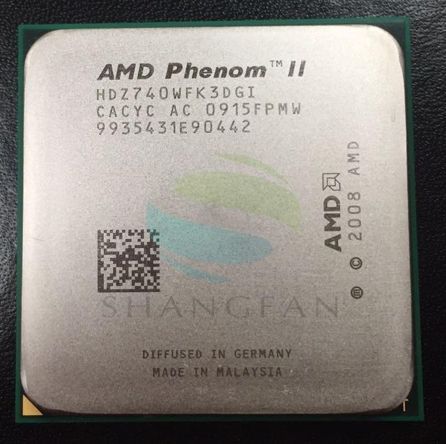 AMD Phenom X3 740 3GHz Triple Core CPU Processor