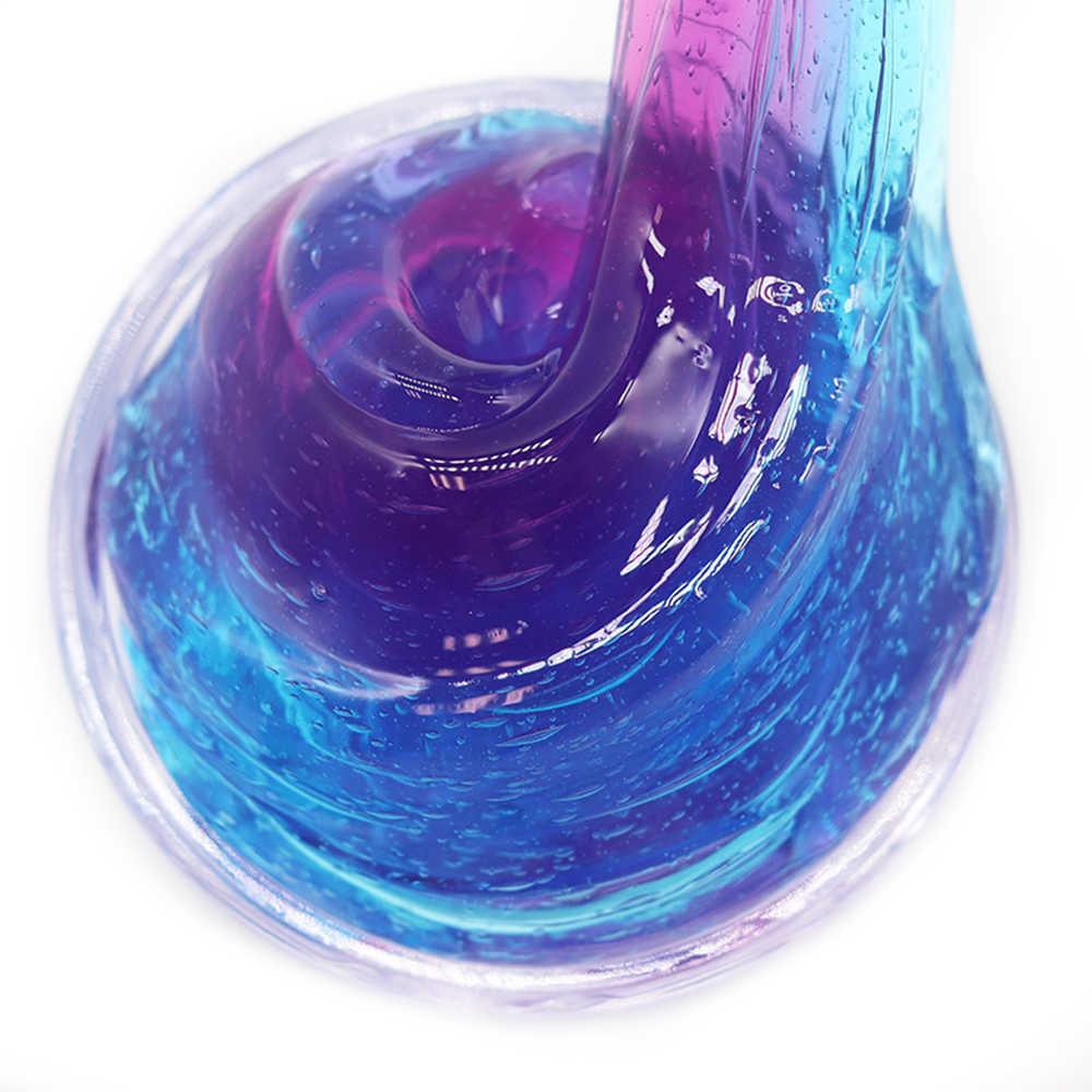 Fofo Suprimentos Goo Slime DIY Argila do Polímero De Espuma De Ar Suave Encantos Kit Brinquedos Slime Putty para Antistress Bola de Algodão Leve crianças