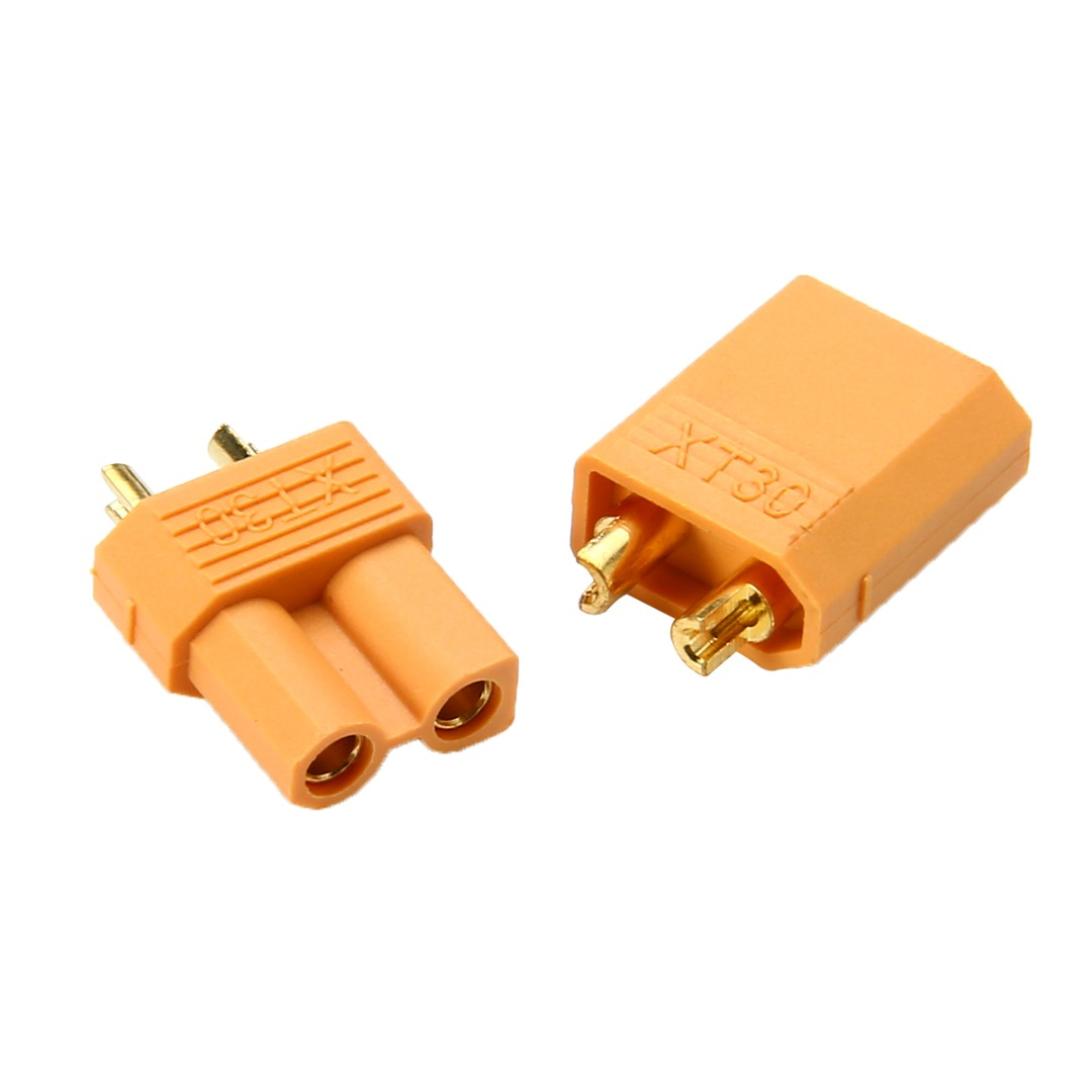 XT30 Power Connector Plug Socket For RC Quadcopter Helicopter Airplane Toys Parts 1 Pair 5 Pairs 10 Pairs Connectors