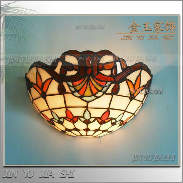 tiffany fashion European style wall lamp Baroque Bohemia   mirror light rustic bed-lighting lampstiffany fashion European style wall lamp Baroque Bohemia   mirror light rustic bed-lighting lamps