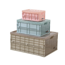 Foldable Storage Box Portable Clothes Bra Organizer Wardrobe Storage Basket Offices Home Storage Plastic Container Organization