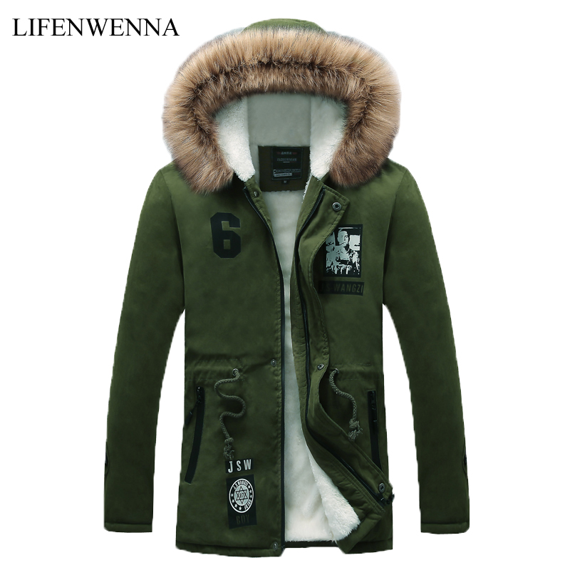 Winter New Style font b Men s b font Warm font b Jacket b font Parka
