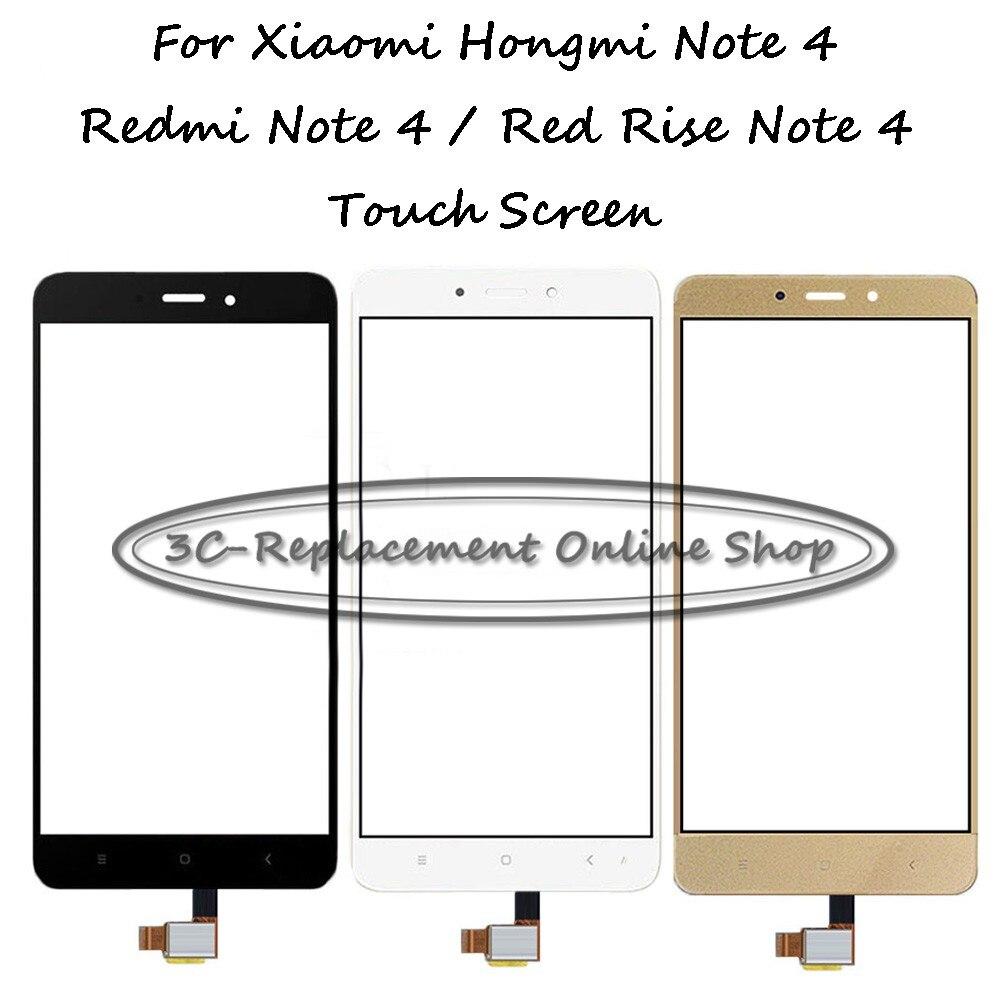 5 шт. белый/черный/золотой высококачественный 5,5 дюймов для Xiaomi Redmi Note 4/Note 4 Pro Prime дигитайзер Замена сенсорного экрана