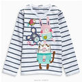 New 2017 Brand Quality 100% Cotton Baby Girls t shirts Toddler Kids Clothing Children Clothes Long Sleeve Shirt Baby Girl Blouse