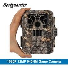12mp Инфракрасный Охота Камеры Ночного Видения 36 шт. 940nM ИК Светодиодов ИК Скаутинг Trail Камеры ловушка IP66 Водонепроницаемый 0.5-0.6 S Триггера