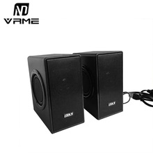 Vrme Speaker Portable Audio HiFi Home Theatre Sound System Stereo Music Subwoofer Computer Speakers Wired Speaker Support U Disk