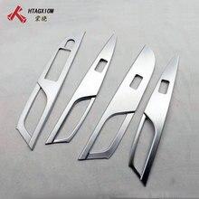 Per Suzuki SX4 S Cross 2014 2015 2016 2017 2018 2019 Chrome interni maniglia bracciolo copertura Car Styling accessori adesivi