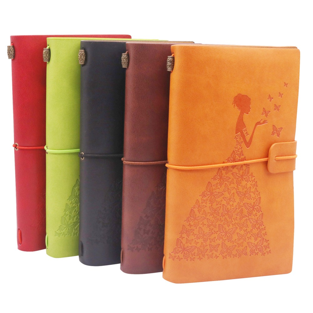 1 pcs Wedding Straps The Retro Notepad Current Notebook Replaceable Page School Office Family Diary Gift Book This Book 5 Color 1 pcs wedding straps the retro notepad current notebook replaceable page school office family diary gift book this book 5 color