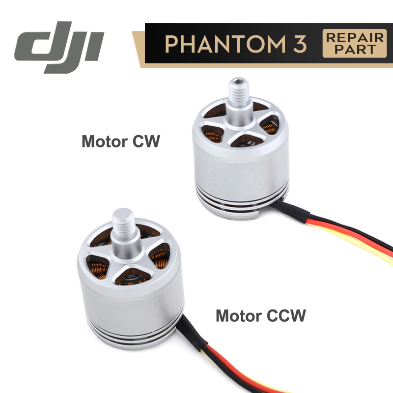 DJI Phantom 3 Motor 2312A CW/CCW for Phantom3 Original Accessories Repair Parts 1 Piece original gteng cw motor