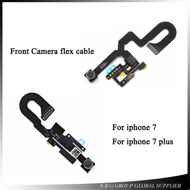 huge selection of ea0af ceaf3 US $13.54 5% OFF|Small Front Facing Camera Flex Cable with Light Proximity  Sensor Microphone for iPhone 7 plus 7G 7P repair parts-in Mobile Phone Flex  ...