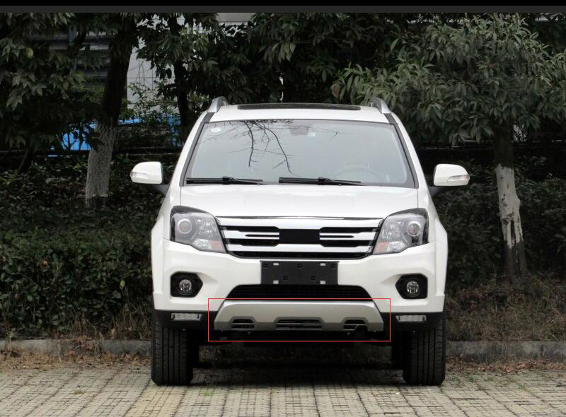 ABS front Behind Bumpers Car Accessories Car Bumper Protector Guard Skid Plate For Great Wall Haval H5 10 2012|Bumpers| |  - title=