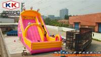Colorful Inflatable Cartoon Slide Fof Sale Outdoor Structure High Quality Inflatable Slide