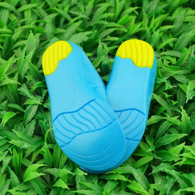 Comprimento total Correção palmilha para pés chatos, apoio Do Arco ortopédicos ortopédico Crianças PU palmilha