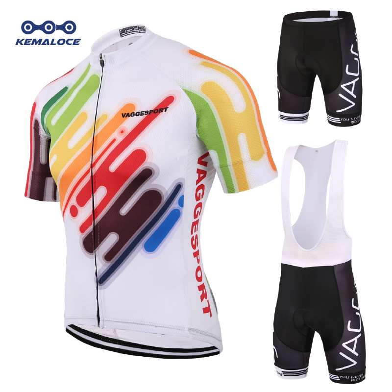Kemaloce 2019 Heren Mountain Cycling Wear Set Zomer Short Road Racefiets Kleding Ropa Ciclismo Maillot Wear Bicycle Clothing Kits