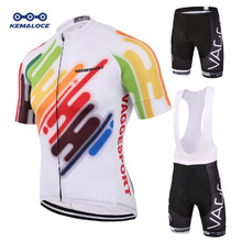 Kemaloce 2019 Men Mountain Cycling Wear Set Summer Short Road Race Bike Clothes Ropa Ciclismo Maillot Jersey Bicycle Kits Shirts