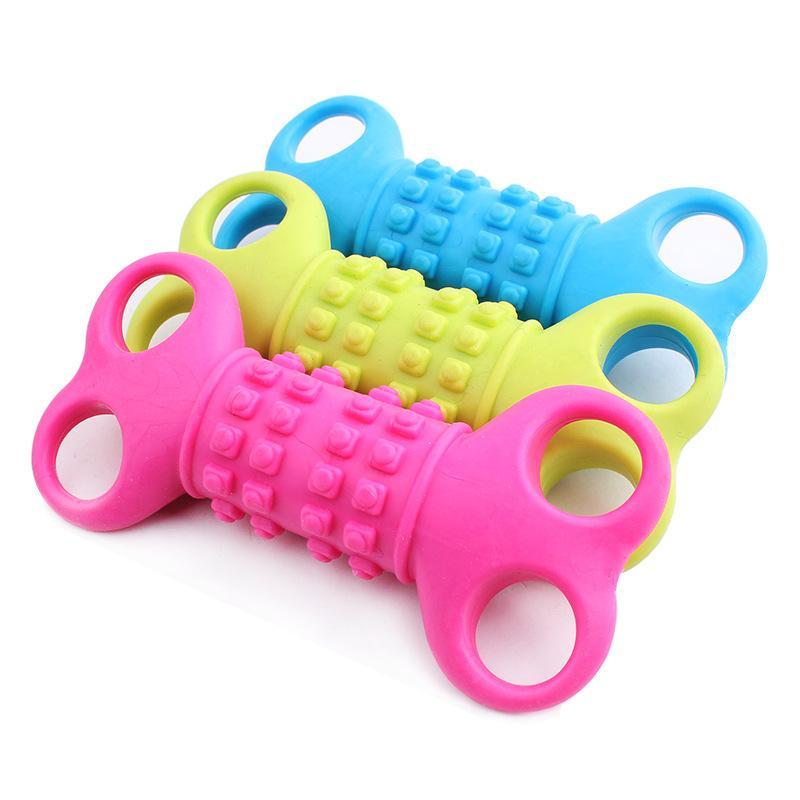Nueva 12 CM no tóxico mascota perro diente molar juguetes productos para mascota