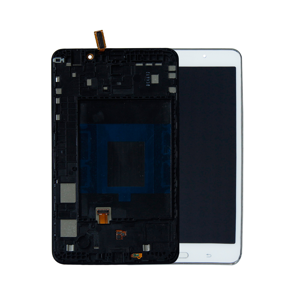 +Frame LCD Screen Digitizer Assembly Black For Samsung Galaxy Tab 4 7.0 T230NU