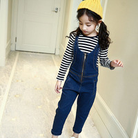 2017 2pcs Cute Kids Baby Toddler Girls Clothes Set Autumn Clothing Sets Girl 2017 Striped T