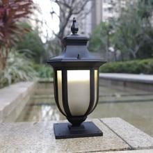 HAWBOIRRY LED European outdoor landscape courtyard community villa park street waterproof pillar lamp balcony wall