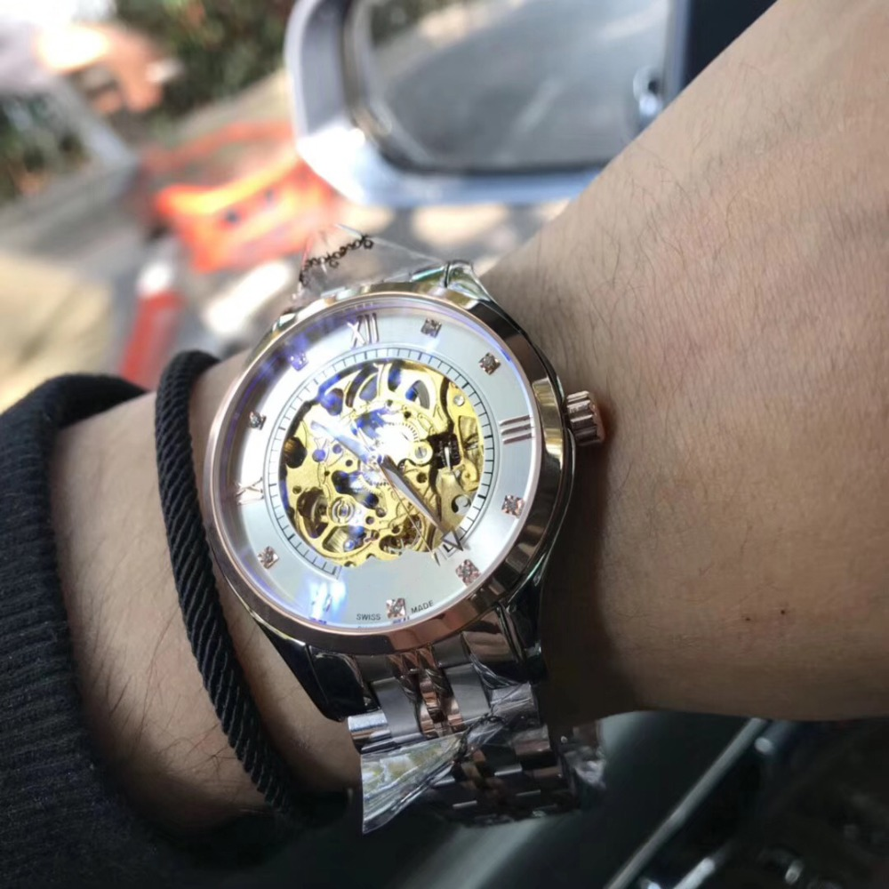 Mens Watches Top Brand Runway Luxury European Design Automatic Mechanical Watch  S0745Mens Watches Top Brand Runway Luxury European Design Automatic Mechanical Watch  S0745