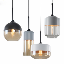 JAXLONG Modern Globe Glass Pendant Lights Nordic Kitchen Fixture Pendant Lamps Hanging Luminaire Indoor Home Lighting LED Lamps все цены