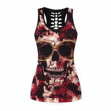 Skull Breathable Tank Top